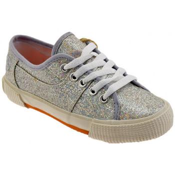 Schoenen Meisjes Lage sneakers Lumberjack  Zilver