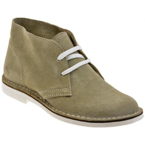 Schoenen Dames Laarzen Lumberjack  Beige