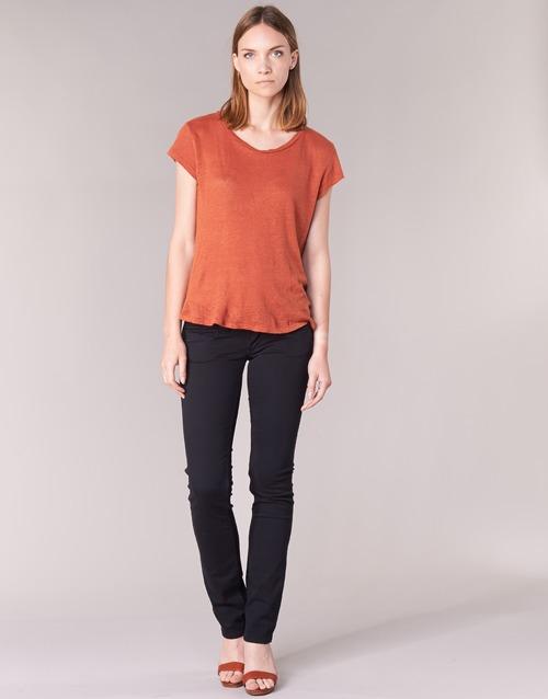 Textiel Dames 5 zakken broeken Pepe jeans VENUS Zwart