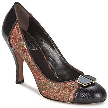 Schoenen Dames pumps Etro 3074 Bruin