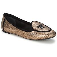 Schoenen Dames Ballerina's Etro 3078 Goud