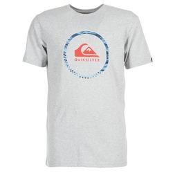 Textiel Heren T-shirts korte mouwen Quiksilver ACTIVELOGO 3 Grijs