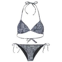 Textiel Dames Bikini Roxy DOLTY Zwart / Wit