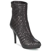 Schoenen Dames Enkellaarzen Versace MARGHERITA Zwart