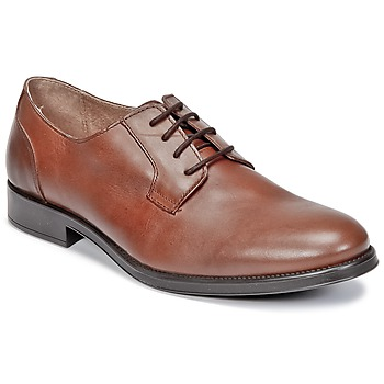 Schoenen Heren Derby Selected OLIVER Cognac
