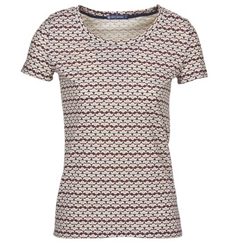 Textiel Dames T-shirts korte mouwen Petit Bateau 10620 Multicolour