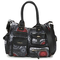 Tassen Dames Handtassen lang hengsel Desigual LONDON MEDIUM BARBADOS Zwart