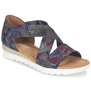 Schoenen Dames Sandalen / Open schoenen Gabor WOLETTE Blauw / Violet