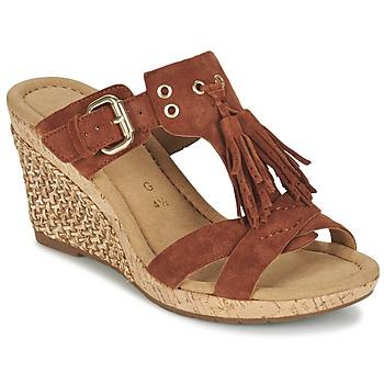 Schoenen Dames Sandalen / Open schoenen Gabor MULETTE Bruin