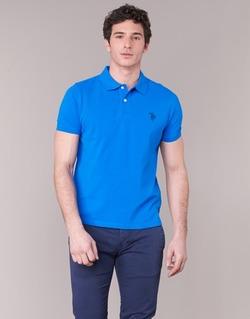Textiel Heren Polo's korte mouwen U.S Polo Assn. INSTITUTIONAL Blauw
