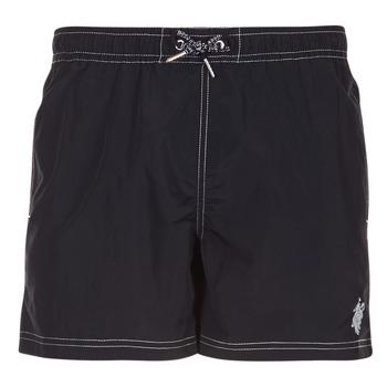 Textiel Heren Zwembroeken/ Zwemshorts U.S Polo Assn. USPA SWIM TRUNK MED Zwart