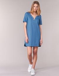 Textiel Dames Korte jurken Loreak Mendian TXANGAI Blauw