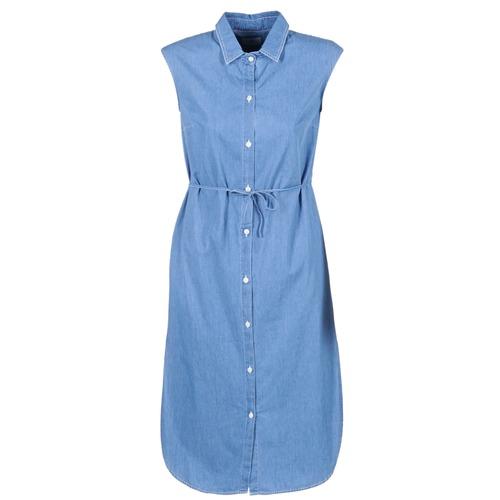 Textiel Dames Lange jurken Loreak Mendian BAT ARKANSAS Blauw