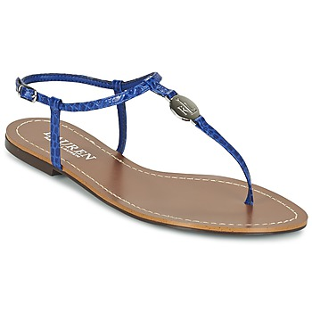 Schoenen Dames Teenslippers Ralph Lauren AIMON SANDALS CASUAL Blauw