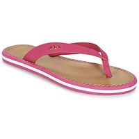 Schoenen Dames Teenslippers Ralph Lauren RYANNE SANDALS CASUAL Roze