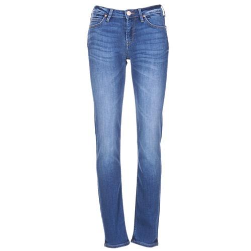 Textiel Dames Skinny jeans Lee ELLY Blauw / Medium