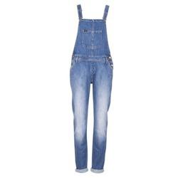 Textiel Dames Jumpsuites / Tuinbroeken Lee RELAXED BIB Blauw / Clair
