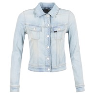 Textiel Dames Spijker jassen Lee SLIM RIDER Blauw / Clair