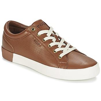 Schoenen Heren Lage sneakers Ralph Lauren ALDRIC II Bruin