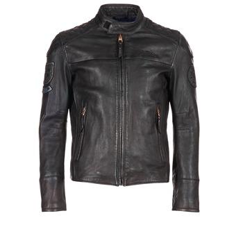 Textiel Heren Leren jas / kunstleren jas Redskins HAMILTON Zwart