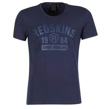 Textiel Heren T-shirts korte mouwen Redskins BALLTRAP 2 Marine