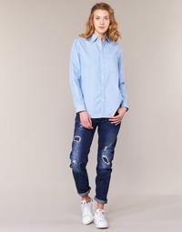 Textiel Dames Boyfriend jeans G-Star Raw ARC 3D LOW BOYFRIEND Blauw / Brut