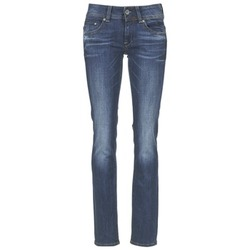 Textiel Dames Straight jeans G-Star Raw MIDGE SADDLE MID STRAIGHT Denim