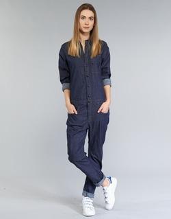 Textiel Dames Jumpsuites / Tuinbroeken G-Star Raw STALT 3D Blauw / Brut