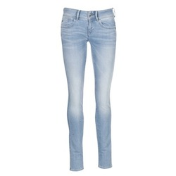 Textiel Dames Skinny Jeans G-Star Raw LYNN MID SKINNY Blauw / Clair