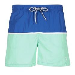 Textiel Heren Zwembroeken/ Zwemshorts Gant CUT & SEWN SWIM SHORT Groen / Marine