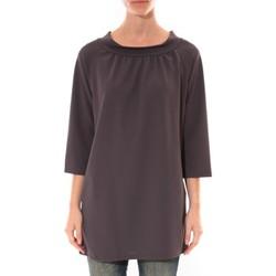 Textiel Dames Korte jurken Barcelona Moda Robe Margarita Anthracite Grijs