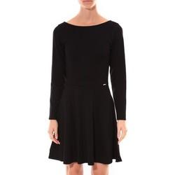 Textiel Dames Korte jurken Coquelicot Robe  Col V Noir 16201 Zwart