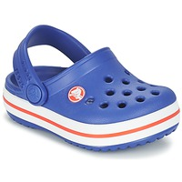 Schoenen Kinderen Klompen Crocs Crocband Clog Kids Blauw