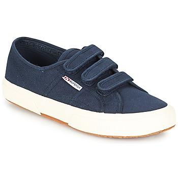 Schoenen Dames Lage sneakers Superga 2750 COT3 VEL U Marine