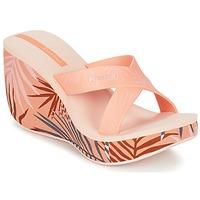 Schoenen Dames Leren slippers Ipanema LIPSTICK STRAPS III Oranje