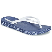 Schoenen Dames Teenslippers Ipanema ANATOMIC SOFT Wit / Blauw