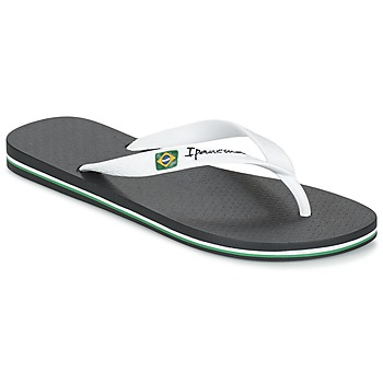 Schoenen Heren Teenslippers Ipanema CLASSICA BRASIL II Zwart / Wit