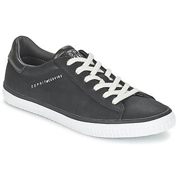 Schoenen Dames Lage sneakers Esprit RIATA LACE UP Zwart