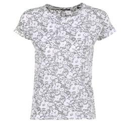 Textiel Dames T-shirts korte mouwen Marc O'Polo BRIDELOPAC Grijs / Wit