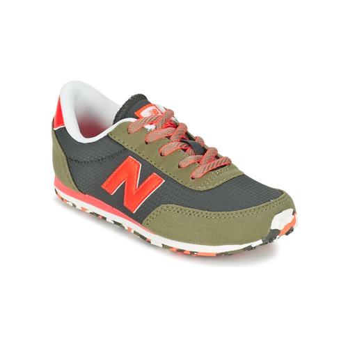 Schoenen Kinderen Lage sneakers New Balance KL410 Groen / Grijs / OranJe