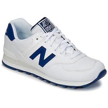 Schoenen Lage sneakers New Balance ML574 Wit / Blauw