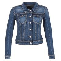 Textiel Dames Spijker jassen Meltin'pot JUSTINE Blauw / Brut