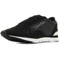 Schoenen Dames Lage sneakers Calvin Klein Jeans Tori Reflex Nylon Microfibre Zwart
