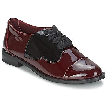 Schoenen Dames Derby F-Troupe Butterfly Shoe Bordeau