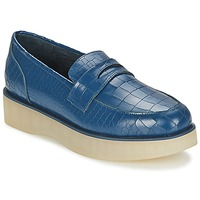 Schoenen Dames Mocassins F-Troupe Penny Loafer Marine