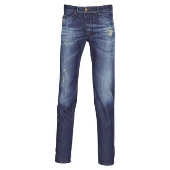 Textiel Heren Straight jeans Diesel DARRON Blauw
