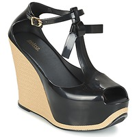 Schoenen Dames Sandalen / Open schoenen Melissa PEACE VI Zwart / Beige