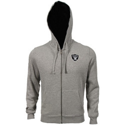 Textiel Heren Trainings jassen New Era NFL FZ Hoody Oakland Raiders Grijs