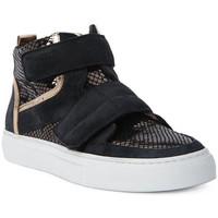 Schoenen Heren Hoge sneakers Logan CROSSING Marrone