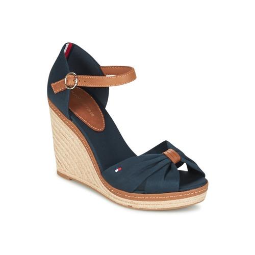 Schoenen Dames Sandalen / Open schoenen Tommy Hilfiger ELENA 56D Marine / Bruin